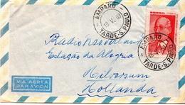 Postal History Cover: Brazil Stamp On Cover - Brasilien
