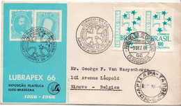 Postal History Cover: Brazil Stamps On Cover - Philatelic Exhibitions