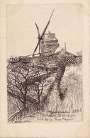 PARIS - Montmartre 1884 - Moulin Debray Vue De La Rue Lepic - District 18