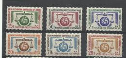Dom Tom 15 ème Anniv. Decl. Droits De L'homme Neufs** MNH Cote YT 62€30 - France (ex-colonies & Protectorats)