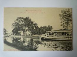 GP 2019 - 1243  LALANDE  (Haute-Garonne)  :  PORT  De  LALANDE Sur Le Canal Latéral   1915   XXX - Autres Communes