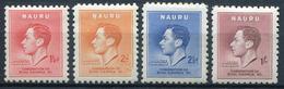 NAURU - N° 33 A 36 - * - TB - Nauru