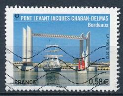 France - Pont Chaban-Delmas Bordeaux YT 4734 Obl. Ondulations - France