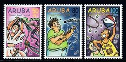 SERIE NEUVE D'ARUBA - SURTAXE AU PROFIT DE L'ENFANCE Y&T N° 226 A 228 - Enfance & Jeunesse