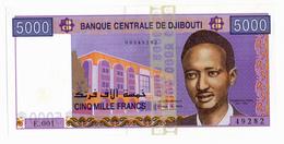 BANQUE NATIONALE DE DJIBOUTI // 5000 Francs // SPL/AU - Djibouti