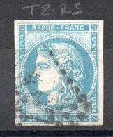 FRANCE - 1870 - YT N° 45C - Report 3 - Cote: 70,00 € - 1870 Bordeaux Printing
