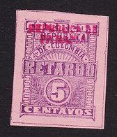 Panama, Scott #I1, Mint Hinged, Late Fee Stamp, Issued 1903 - Panama
