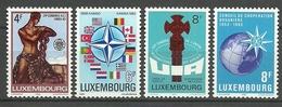 Luxemburgo 1983 Yt 1020 / 1023  ** Mnh - Luxemburgo