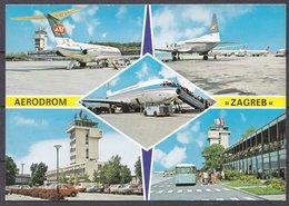 AIRPORT  ,  OLD  POSTCARD - Aerodrome