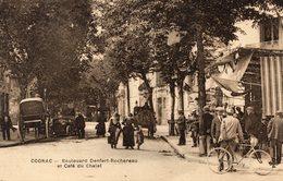 S 2  -  405  -      COGNAC      -  ( 16 )       -    Boulevard  Denfert - Rochereau  Et Café  Du  Chalet   - - Cognac