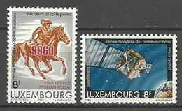 Luxemburgo 1983 Yt 1028 / 1029  ** Mnh - Luxemburgo