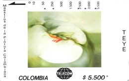 *COLOMBIA* - Scheda Usata - Kolumbien