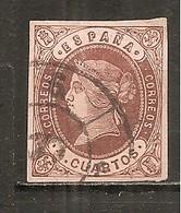 España/Spain-(usado) - Edifil  58-RC-6 (Málaga) - Yvert  54 (o) - Used Stamps