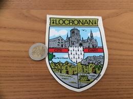 AUTOCOLLANT, Sticker «LOCRONAN» (Blason, Finistère 29) - Autocollants