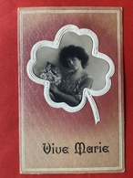 1910 - RELIEF - GAUFREE - VIVE MARIE - MARIA - VROUW - FEMME - Autres