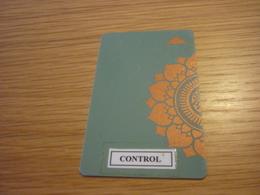 Thailand Bangkok Four Seasons Hotel Room Key Card (control Sticker) - Chiavi Elettroniche Di Alberghi