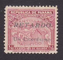 Panama, Scott #I7, Mint Hinged, Late Fee Stamp, Issued 1921 - Panama