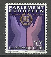 Luxemburgo 1983 Yt 1047 / 1047  ** Mnh - Luxemburgo