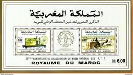 """Maroc,1990,bloc Feuillet,BF 19, """" 20ème Anniversaire De L'inauguration Du Musée Postal """" Neuf**,MNH;Morocco,Marruecos - Morocco (1956-...)"""