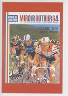 1964 Jacques Anquetil 5è Tour De France - Raymond Poulidor, Federico Babmontes (Miroir Du Tour Cyclisme 64) - Cyclisme