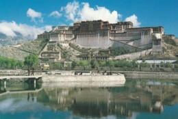 Lhasa Tibet, Potala Palace C1990s/2000s Vintage China Postcard - Tibet