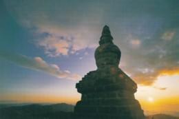 Mount Wutai China, Shanxi Province, Buddhist Temple C1990s/2000s Vintage Postcard - China