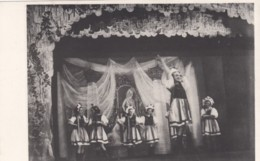 Harbin China, Cabaret Of Harbin, Russian Girls Entertainment Performance, C1930s Vintage Postcard - China
