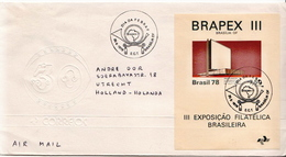 Postal History Cover: Brazil SS On Cover - Philatelic Exhibitions