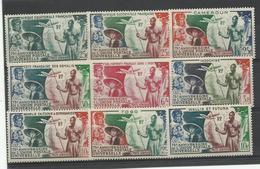 Colonies Gen. 75 ème Anniv. UPU 9 Valeurs Neufs ** MNH Cote YT 107€ - 1949 75e Anniversaire De L'UPU
