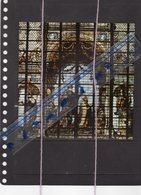 Artis Historia  82 17 X 17cm Charles Quint Sur Vitrail Cathedrale De Bruxelles - Artis Historia