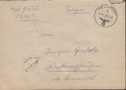 Feldpost Nr 07165 E, Brief Ohne Inhalt, Mit Stempel: Feldpost D - 29.6.1943, Nebenstempel: FPN - 1939-45