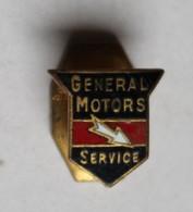 Rare Ancien Insigne De Boutonnière émaillé General Motors Constructeur Automobile Bernard Et Woehrle Paris 35 Rue Chapon - Voitures