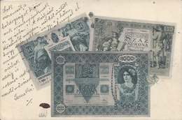 Postcard RA010294 - Austria Hungary Money Korona - Monnaies (représentations)