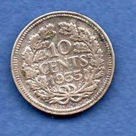 Pays - Bas  -  10 Cents 1935 --  Km # 163 --  état  TTB - [ 3] 1815-… : Royaume Des Pays-Bas