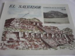 Miniature Sheet Perf  Ruins - El Salvador