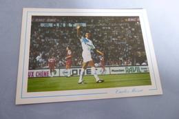 BELLE CARTE ...CARLOS MOZER ...OLYMPIQUE DE MARSEILLE ..BRESILIEN - Calcio