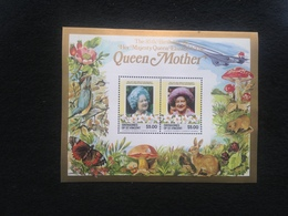 Grenadines Of St Vincent 85th Birthday Of The Queen Mother S/S Mint - Grenada (1974-...)