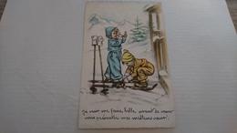 Enfants Ski - Bouret, Germaine