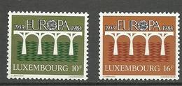Luxemburgo 1984 Yt 1048 / 1049  ** Mnh - Luxemburgo