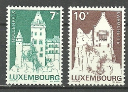 Luxemburgo 1984 Yt 1055 / 1056  ** Mnh - Luxemburgo