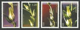 JAMAICA 2004 FLOWERS WHITE SORREL CHRISTMAS SET MNH - Jamaica (1962-...)
