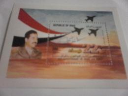 Miniature Sheet Perf  54th Anniversary Of Iraqi Air Force - Iraq