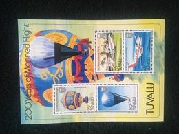 Tuvalu Manned Flight Sheetlet Mint - Tuvalu