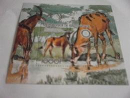 Miniature Sheet Perf  Antelope Republic Of Haute-Volta - Stamps