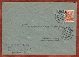 Brief, Arbeiter, Korbach Nach Muenchen 1948 (73911) - Gemeinschaftsausgaben