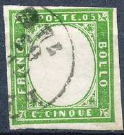 Stamp ITALY STATES SARDINIA  1850-1861 Used - Sardinia