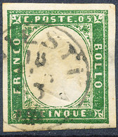 Stamp ITALY STATES SARDINIA  1850-1861 Used - Sardaigne
