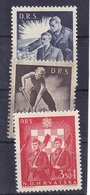 Croatie Série De 3 Timbres N° 162A, 163A, 164A Année 1944 Trace De Charnière - Croatia