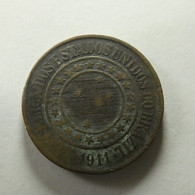 Brazil 40 Reis 1911 - Brazil