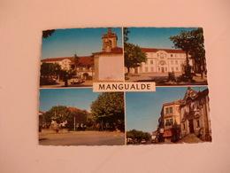 Postcard Postal Portugal Mangualde Aspectos Da Vila - Viseu